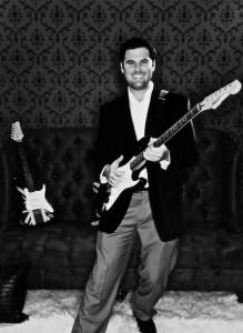Reagan with Guitar