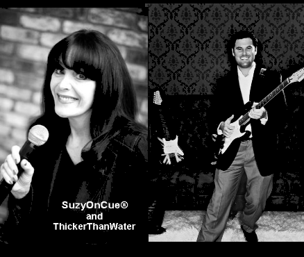 Music Jingles SuzyOnCue and Thicker Than Water Band